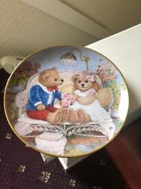 Franklin Mint Heirloom Plate First Anniversary