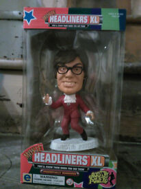 Brand New (Box has never been opened) Austin Powers XL Headliner Limited Edition