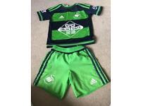 Children's Swansea football kit