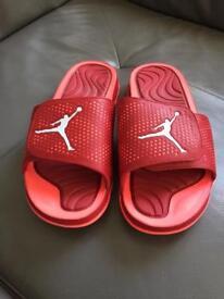 Jordan Hydro Slides Red