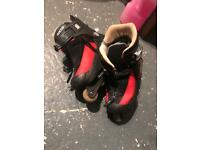 ROCES inline rolled skates