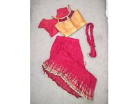 Brand new never been worn girls Indian outfits