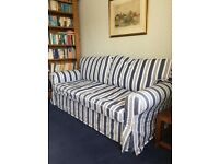 Double sofa bed very good condition EKTORP 2 seater model with removable covers £90. Uplift required
