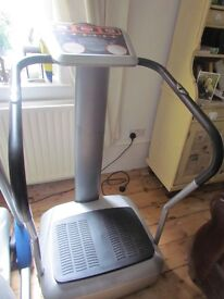 Large Gym Style Vibro Plate Exerciser - perfect working order very good condition