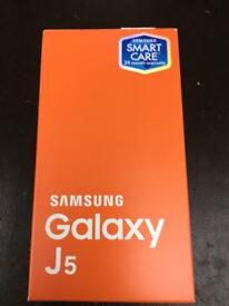 Samsung J5 new boxed unlocked with warranty