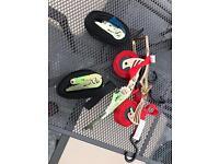 Selection of Ratchet/Load Straps for Car/Trailer/Van etc.