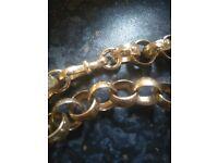 Massive 9ct Gold Belcher Chain