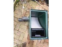 Stainless Steel Pond Filter Sieve for a koi pond