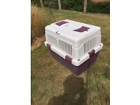 Very large non rust pet /cat/dog travel cage / carrier