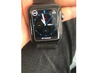 Apple Watch 42mm black under warranty up for swap looking for series 2 will pay on top