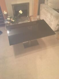 Gorgeous black marble coffee table