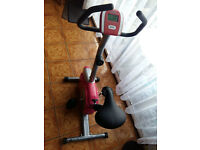 Marcy pour Femme Exercise Bike - pink/silver colour