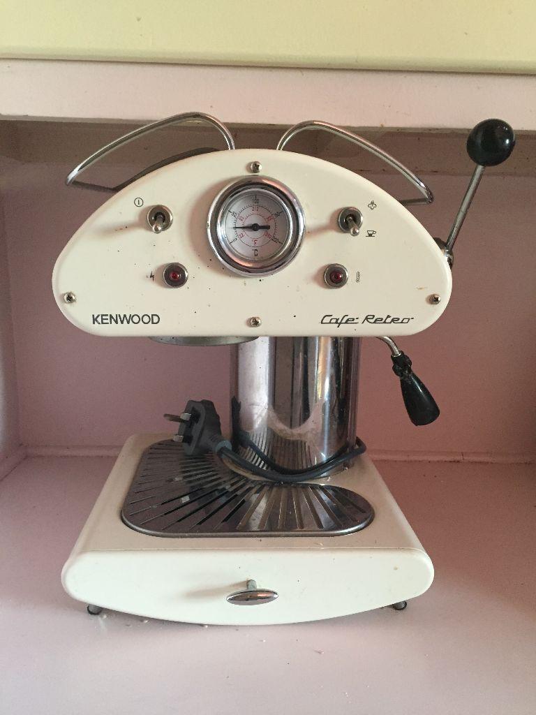 Kenwood Cafe Retro coffee machine cream *PRICE REDUCED* | in Dalston ...