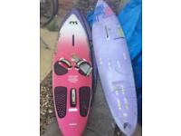 X2 mistral ecstasy wind surfing board