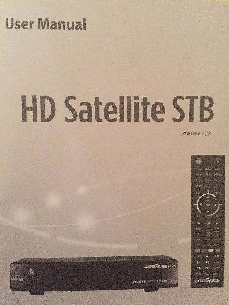 ZGEMMA-H5 2s DUAL-CORE-SATELLITE-RECEIVER-DVB-S2-TUNER-FREE-TO-AIR | in  Lowestoft, Suffolk | Gumtree