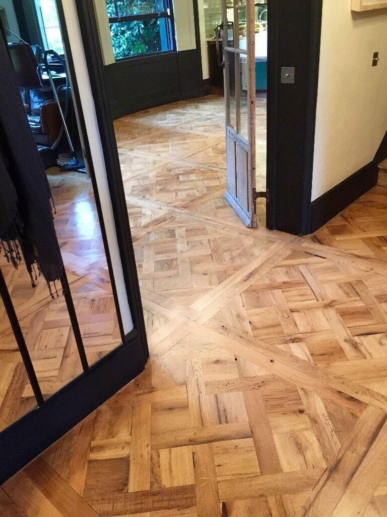 Parquet Floors Reclaimed And New Supply Installation Refinishing In Notting Hill London Gumtree