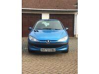 Peugeot 206 1.1lx 12 months mot