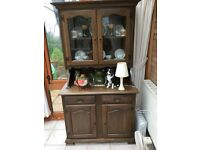 Dark oak effect dresser