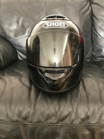 Shoei Qwest Helmet with dark Visor