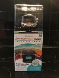 Kitvision immerse 360 action camera ( Sealed )