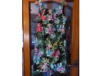 Ladies cotton dress size 14