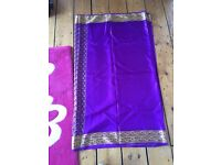 Purple saree only £12