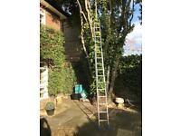 6.40m extendable Ladder
