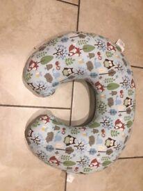 Boppy 'Woodsie' print feeding pillow