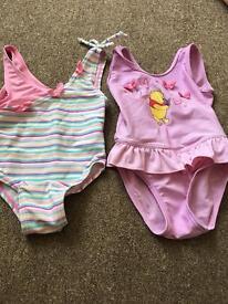 6-9, 6-12 swimming costumes