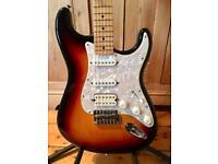 2008 Fender HSS Stratocaster Stratocaster Guitar – Sunburst - Courier