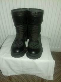 Frank thomas biker boots as new