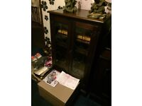 5 items furniture cabinets and desk