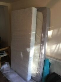 Single bed (mattress only) for sale. In very good condition