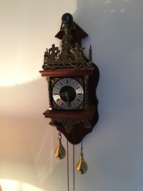 Lovely alnate wall clock