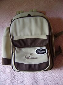 Backpack, Montrose Backpack, NEW