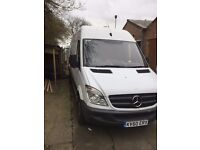 mercedes sprinter 313cdi lwb high top