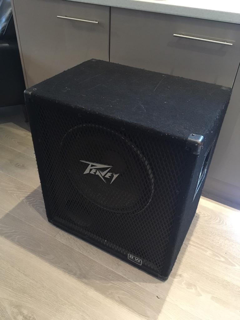Peavey BXBW Black Widow 1x15 Bass guitar speaker cab 115 | in ...