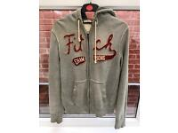 Men's Abercrombie & Fitch zip up hoody. Large