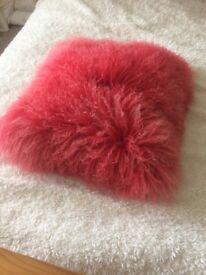 Genuine Suede Cushions