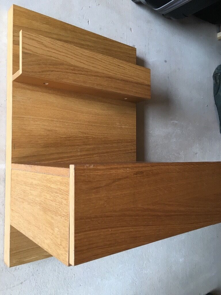 Ikea Malm Floating Bedside Table In Liverpool
