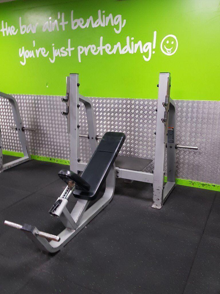 Precor Incline Bench Press In Aldgate London Gumtree