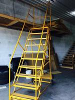 Safety ladders $100