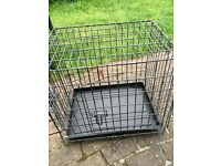Small dog or puppy training crate/cage
