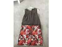Oasis skirt and top size 12