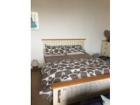 Camden Pine & Ash Bed and Mattress - cost over £1500 !