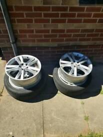 """Alloy wheels 17"""" 5x100"""