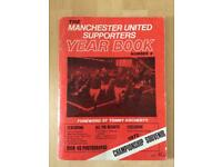Manchester United Supporters Year Book 1975