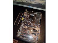 Reduced* Asrock H87-pro4 ATX computer motherboard i3/i5/i7