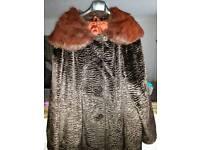 Astraka London vintage fur coat- offers accepted