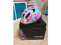 Raleigh Mystery Flower Girls Cycle Helmet